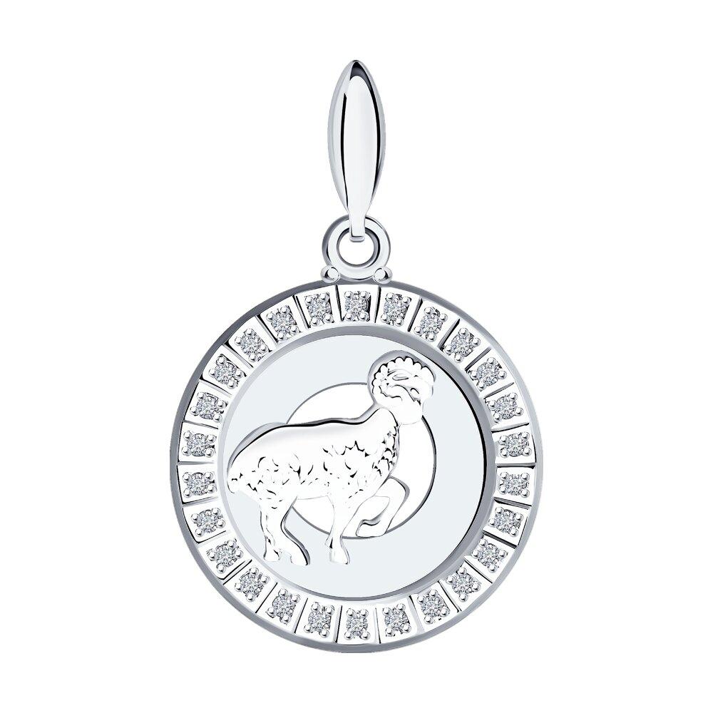 Подвеска «Знак зодиака Овен» SOKOLOV из серебра