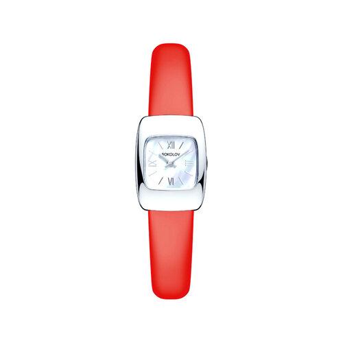 Женские серебряные часы (124.30.00.000.02.03.2) - фото №2