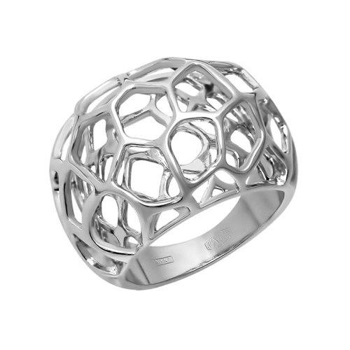 Серебряное ажурное кольцо