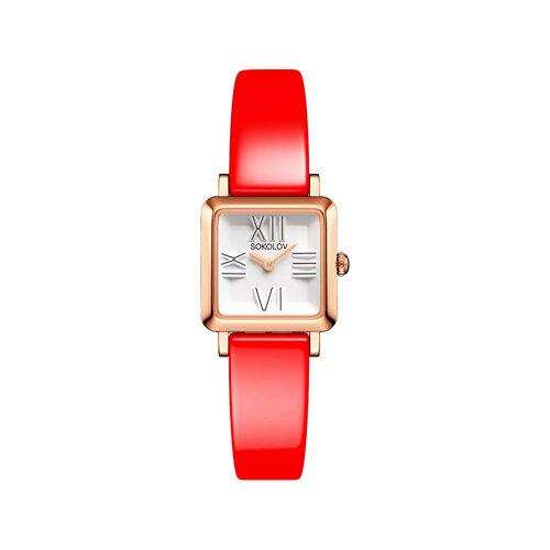 Женские золотые часы (231.01.00.000.01.06.2) - фото №2