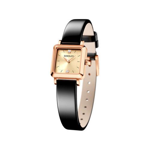 Женские золотые часы (231.01.00.000.06.04.2) - фото