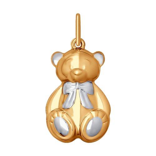 цена на Подвеска SOKOLOV из золота «Медвежонок»