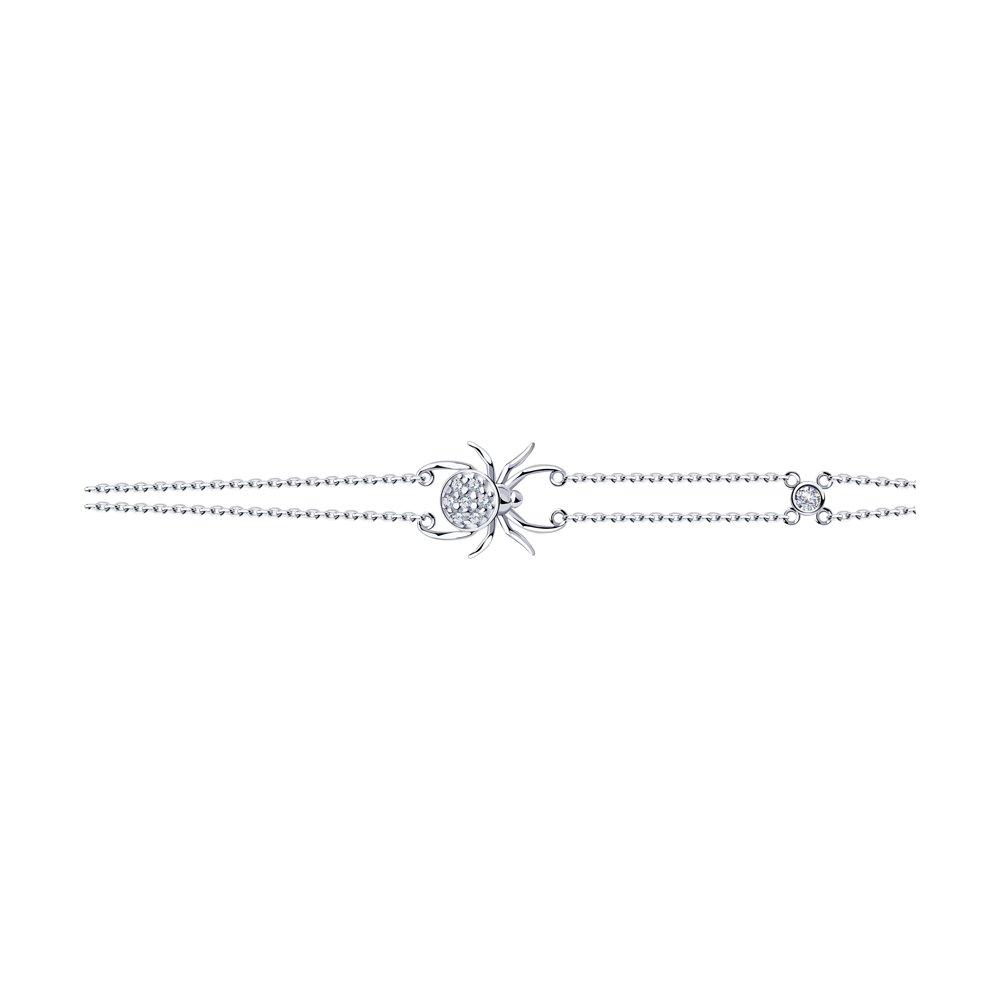 Браслет SOKOLOV из серебра sokolov браслет из серебра 965040802 18 см