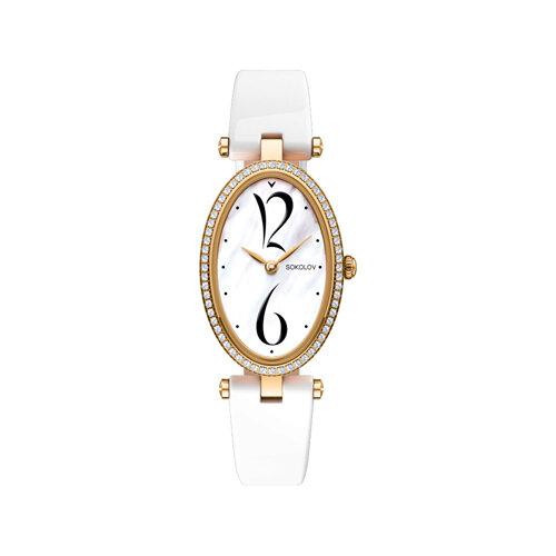 Женские золотые часы (236.02.00.001.05.05.2) - фото №2