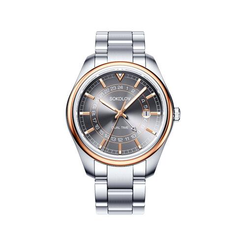 Мужские часы из золота и стали (157.01.71.000.05.01.3) - фото №2