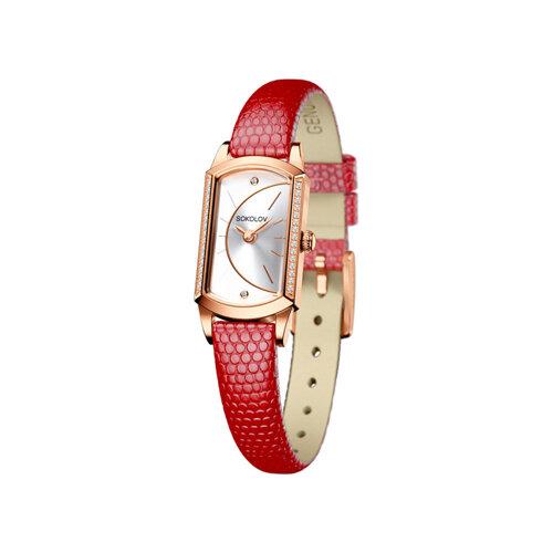 Женские золотые часы (222.01.00.001.04.04.3) - фото