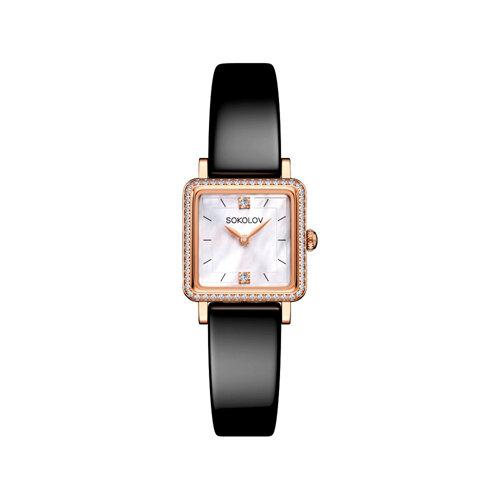 Женские золотые часы (232.01.00.100.05.04.2) - фото №2