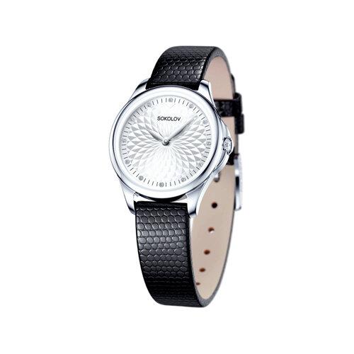 Женские серебряные часы (136.30.00.000.03.01.2) - фото