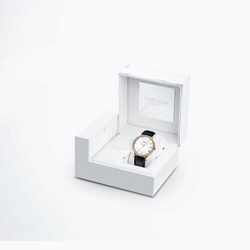 Женские золотые часы (210.02.00.001.02.01.2) - фото №4
