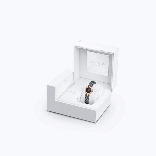 Женские золотые часы (216.01.00.000.02.02.3) - фото №4