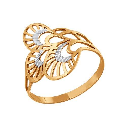 Кольцо SOKOLOV из золота арки с алмазной гранью
