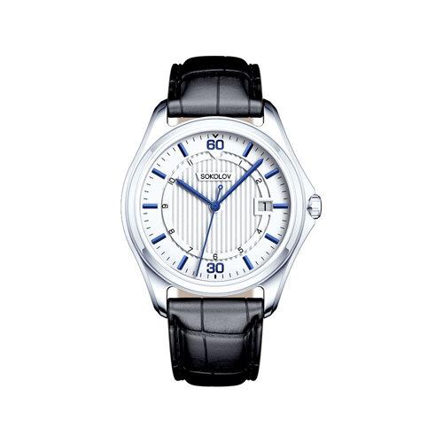 Мужские серебряные часы (135.30.00.000.05.01.3) - фото №2