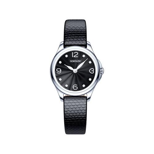 Женские серебряные часы (136.30.00.000.02.01.2) - фото №2