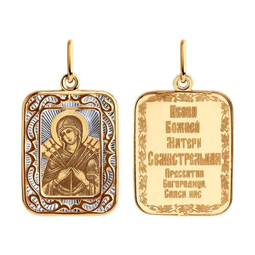 Подвеска из золота 104204 sokolov фото