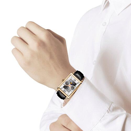 Мужские золотые часы (233.02.00.000.03.01.3) - фото №3