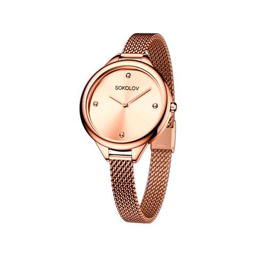 Женские стальные часы (306.73.00.000.03.02.2) - фото