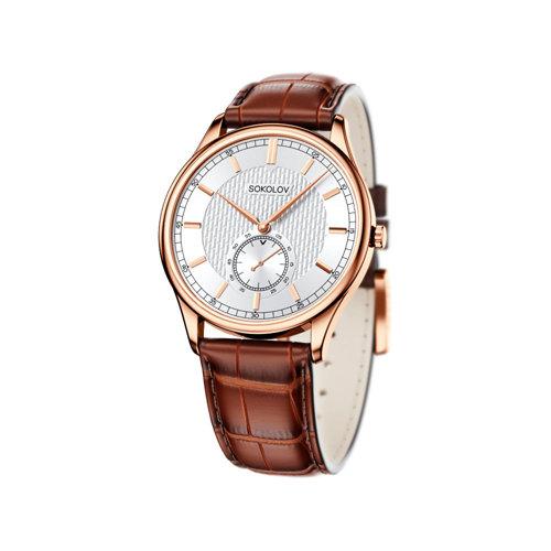 Мужские золотые часы (237.01.00.000.03.03.3) - фото