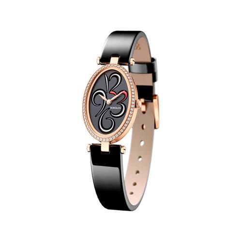 Женские золотые часы (236.01.00.001.04.04.2) - фото