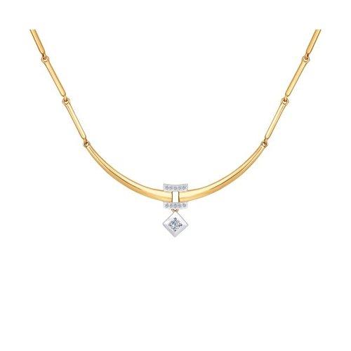 цены Колье SOKOLOV из золота с бриллиантами