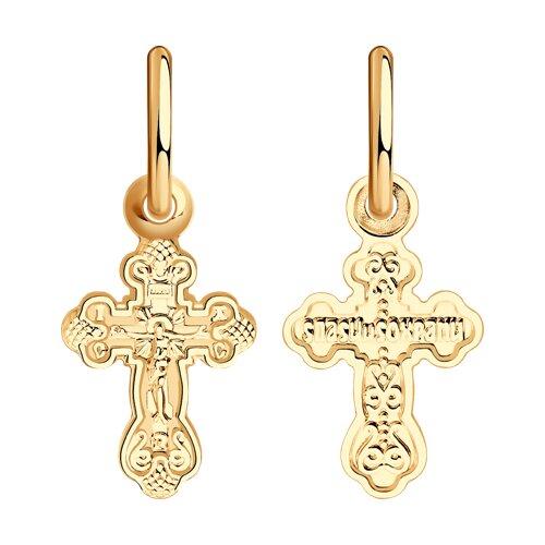 Крест из золота (121262) - фото