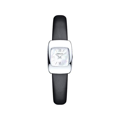 Женские серебряные часы (124.30.00.000.02.01.2) - фото №2