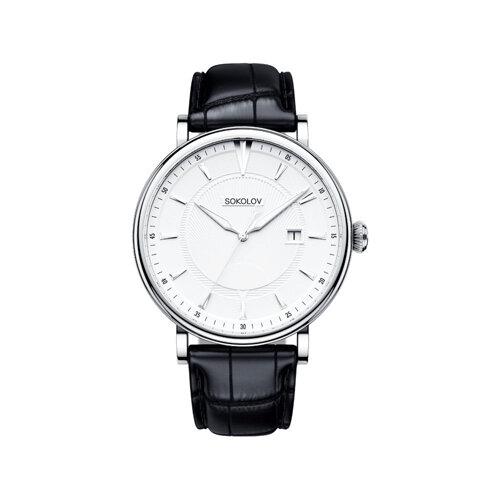 Мужские серебряные часы (101.30.00.000.06.01.3) - фото №2