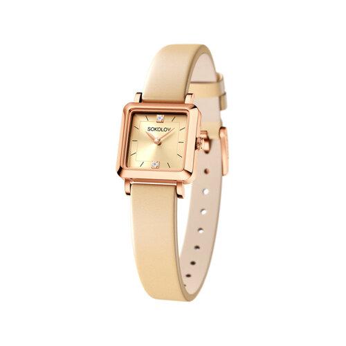Женские золотые часы (231.01.00.000.06.09.2) - фото