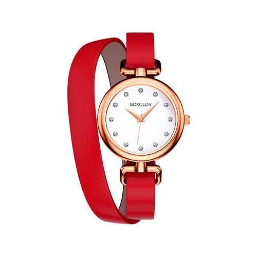 Женские стальные часы (315.73.00.000.01.02.2) - фото №2