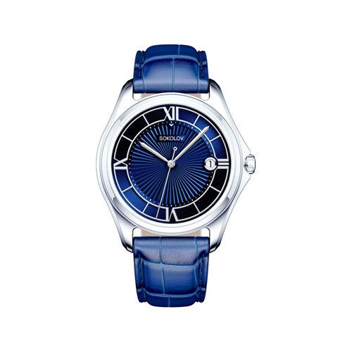Мужские серебряные часы (135.30.00.000.03.02.3) - фото №2