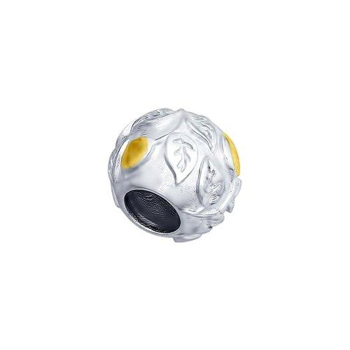 Подвеска-шарм из серебра (94031783) - фото