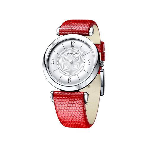 Женские серебряные часы (105.30.00.000.03.03.2) - фото