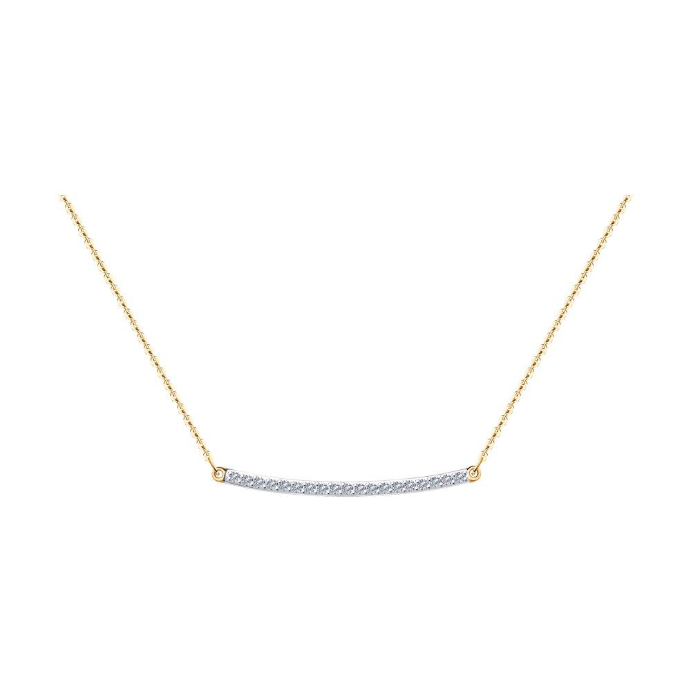 Колье SOKOLOV из золота с бриллиантами фото