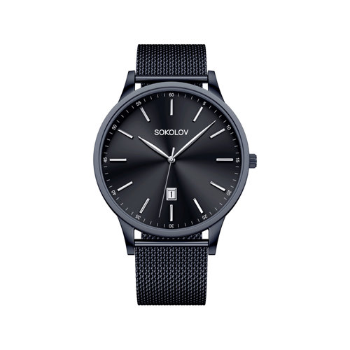 Мужские стальные часы (311.72.00.000.04.02.3) - фото №2