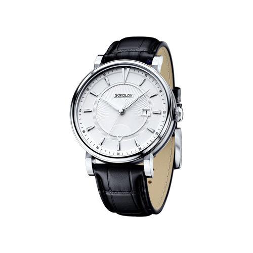 Мужские серебряные часы (101.30.00.000.06.01.3) - фото
