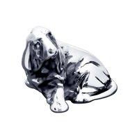 Сувенир из чернёного серебра «Собачка»