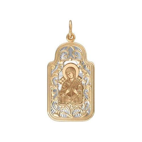 Иконка «Икона Божьей Матери, Семистрельная» SOKOLOV тарелка декоративная lefard икона казанской божьей матери