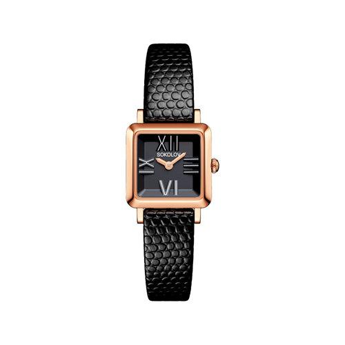 Женские золотые часы (231.01.00.000.02.01.2) - фото №2