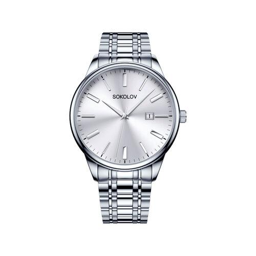 Мужские стальные часы (313.71.00.000.01.01.3) - фото №2