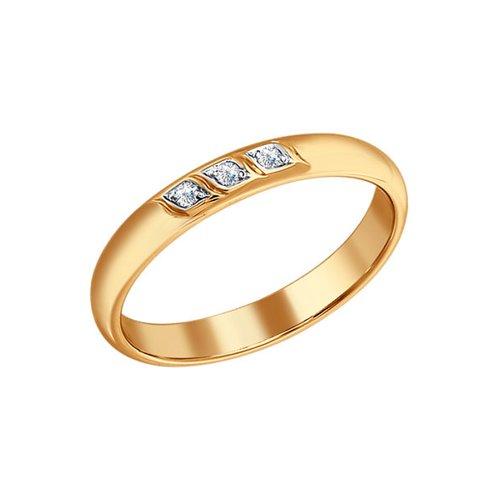 Обручальное кольцо SOKOLOV из золота с бриллиантами обручальное кольцо sokolov из золота с бриллиантами