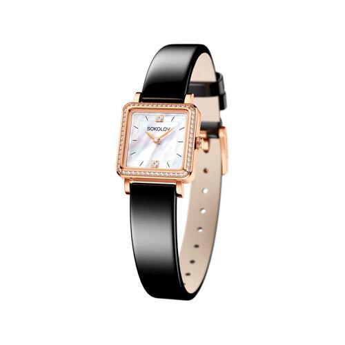 Женские золотые часы (232.01.00.100.05.04.2) - фото