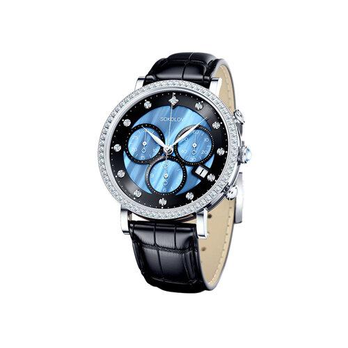 Женские серебряные часы (127.30.00.001.04.01.2) - фото