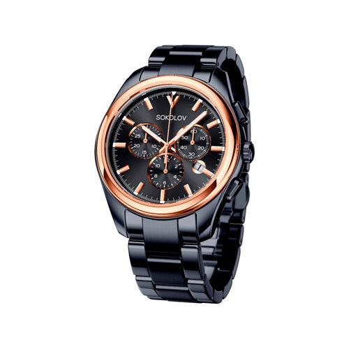 Мужские часы из золота и стали Black Edition (139.01.72.000.03.01.3) - фото
