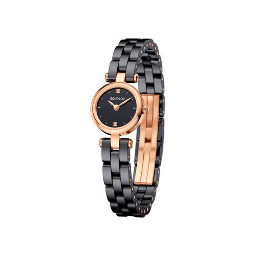 Женские золотые часы (216.01.00.000.02.02.3) - фото