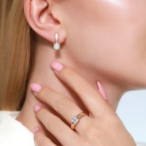 Кольцо из золота с бриллиантами 1011846 SOKOLOV фото 2