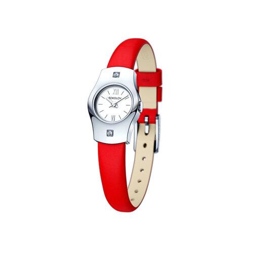 Женские серебряные часы (123.30.00.001.01.03.2) - фото