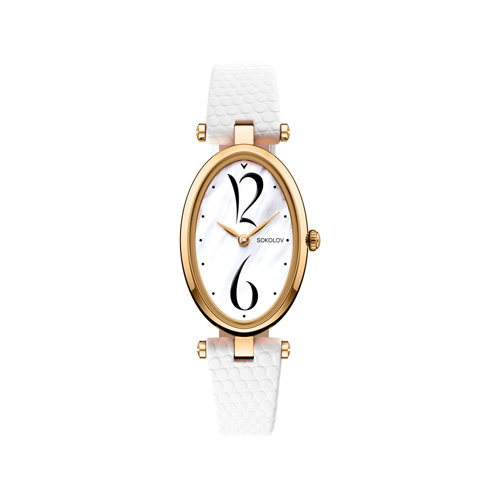 Женские золотые часы (235.02.00.000.05.02.2) - фото №2