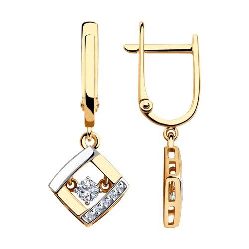 Серьги из золота (028675) - фото