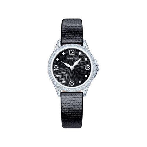 Женские серебряные часы (137.30.00.001.02.01.2) - фото №2