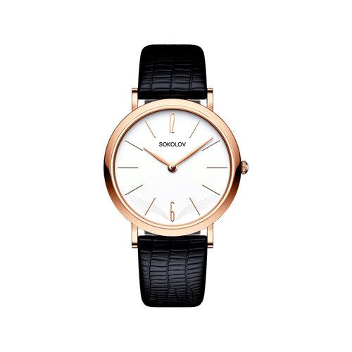 Женские золотые часы (204.01.00.000.05.01.2) - фото №2