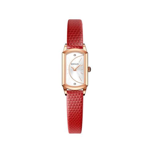 Женские золотые часы (221.01.00.000.04.04.3) - фото №2